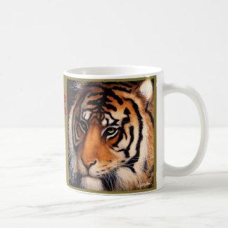 """Bullasのマグ""""色彩の鮮やかな戦士… """" コーヒーマグカップ"""