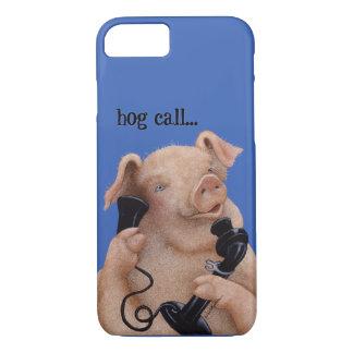 """Bullas電話をかけますカバー""""ブタ呼出し… """"に iPhone 7ケース"""