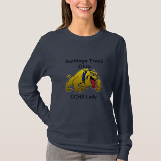 Bulldogs CCHSの女性陸上競技 Tシャツ