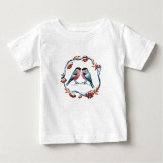 Bullfinch愛ナナカマド ベビーTシャツ