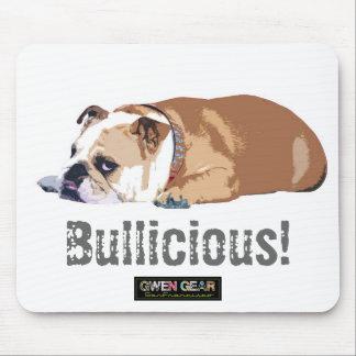Bulliciousの英国のブルドッグのマウスパッド マウスパッド