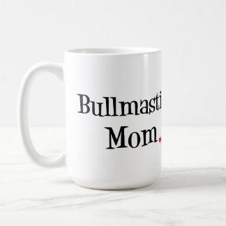 Bullmastiffのお母さんのマグ コーヒーマグカップ