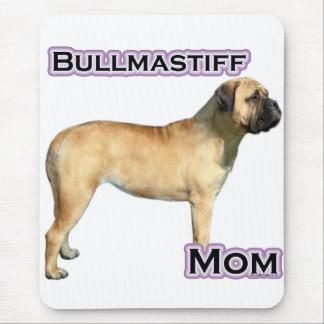 Bullmastiffのお母さん4 マウスパッド
