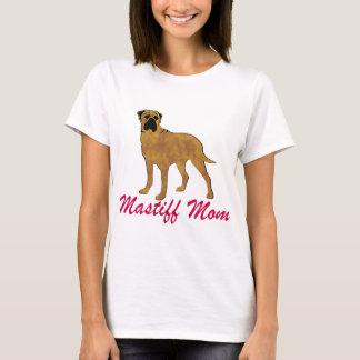 Bullmastiffのお母さん Tシャツ