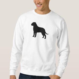 Bullmastiffのシルエット スウェットシャツ