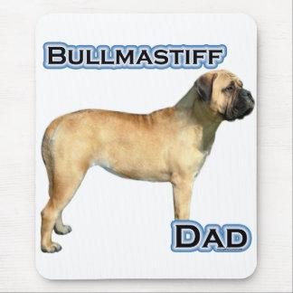 Bullmastiffのパパ4 マウスパッド