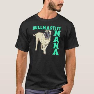 Bullmastiffのママ Tシャツ
