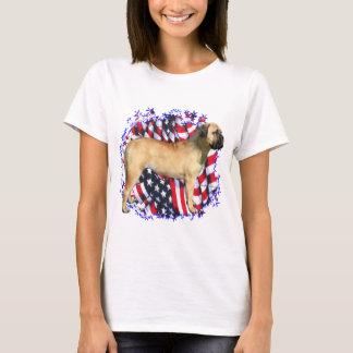 Bullmastiffの愛国者 Tシャツ