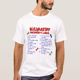 BULLMASTIFFの特性の法律2 Tシャツ