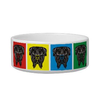Bullmastiff犬ボールPawsID ボウル