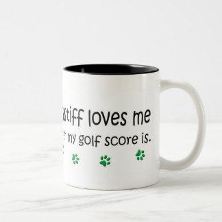 Bullmastiff ツートーンマグカップ