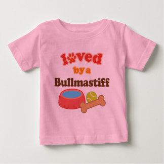 Bullmastiff (犬の品種)著愛される ベビーTシャツ