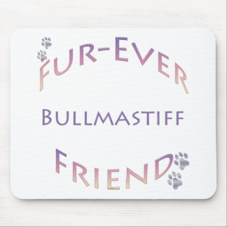 Bullmastiff Furever マウスパッド