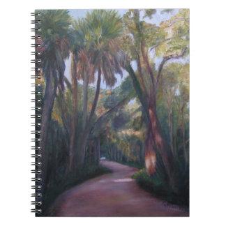BULOWの入り江のプランテーション道のノート ノートブック