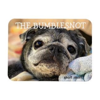 Bumblesnotの磁石: 荒い鼻息の荒い鼻息 マグネット