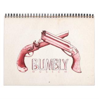 Bumbly博物館-ピストルIntl カレンダー