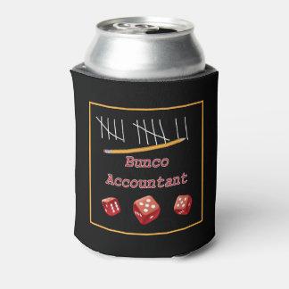 Buncoのおもしろいなサイコロ- Buncoの会計士 缶クーラー