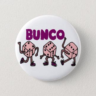 Buncoのおもしろいな踊るサイコロ 缶バッジ