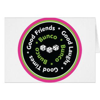 buncoのよい友人 カード