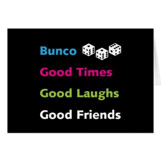 buncoのよい友人#2 カード