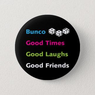 buncoのよい友人#2 5.7cm 丸型バッジ