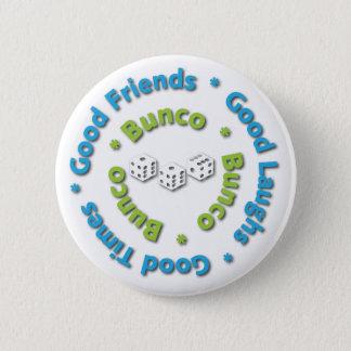 buncoのよい友人 5.7cm 丸型バッジ