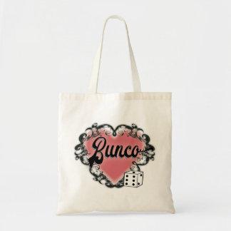 buncoのハートの入れ墨 トートバッグ
