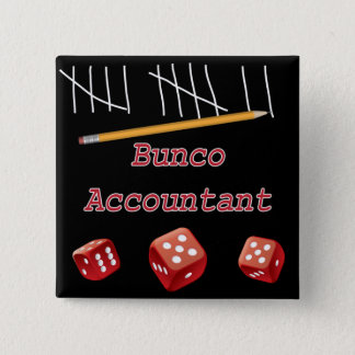 Buncoの会計士 5.1cm 正方形バッジ