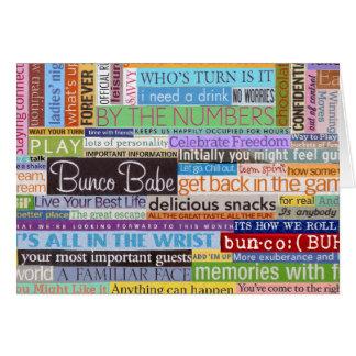 Buncoの可愛い人 カード