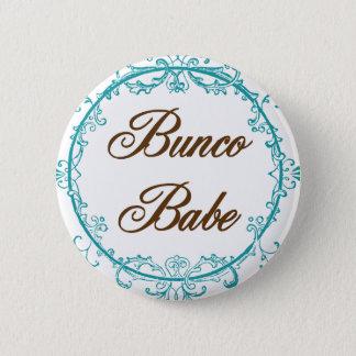buncoの可愛い人 5.7cm 丸型バッジ