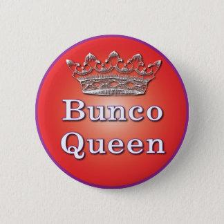 buncoの女王ボタン 5.7cm 丸型バッジ