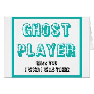 buncoの幽霊プレーヤー カード
