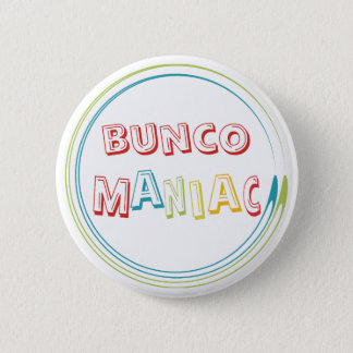 buncoの狂人 5.7cm 丸型バッジ