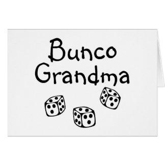 Buncoの祖母 カード