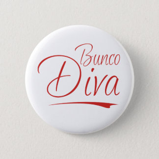 buncoの花型女性歌手 5.7cm 丸型バッジ