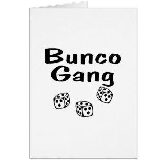 Buncoの集団 カード