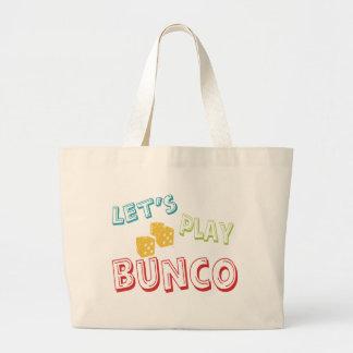 buncoを遊ぼう ラージトートバッグ
