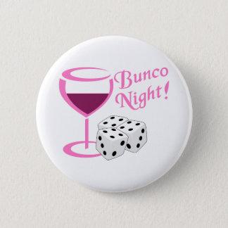 Bunco夜 5.7cm 丸型バッジ