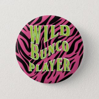 Bunco野生のプレーヤーのグラフィック・デザイン 缶バッジ