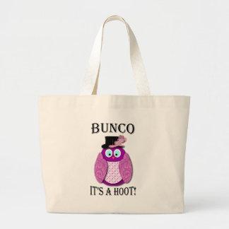 """Bunco -それはですやじり声は"""" ラージトートバッグ"""