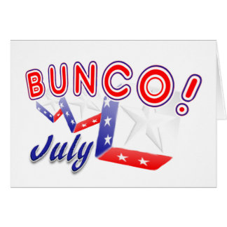 bunco 7月 カード