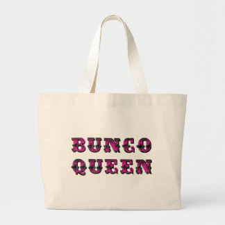 Bunco Buncoの女王の供給のバッグ ラージトートバッグ