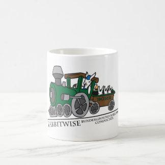 Bundergroundの鉄道コンダクターのコーヒー・マグ コーヒーマグカップ