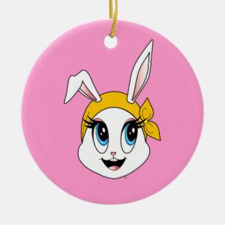 Bunny™のCutesyオーナメント セラミックオーナメント