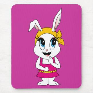 Bunny™のCutesyマウスパッド マウスパッド