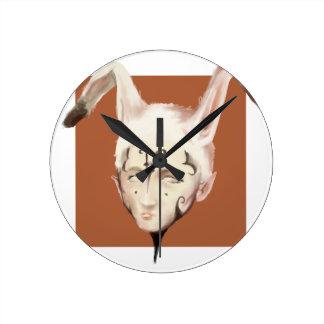 Bunnyman ラウンド壁時計