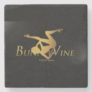 BunnyWineの大理石の石造りのコースター ストーンコースター