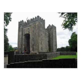 Bunrattyの城の郵便はがき ポストカード