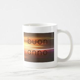 Buonのanno コーヒーマグカップ