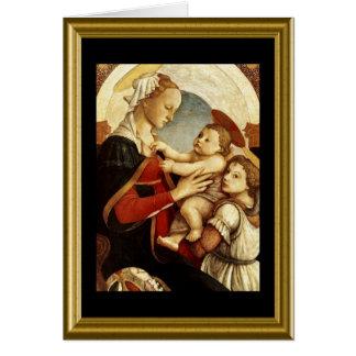 Buonのnatale -イタリア語のあられメリー カード